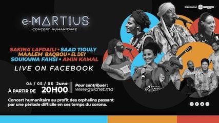 E-Martius concert humanitaire en ligne