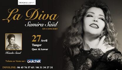 Samira Saïd en Concert à Tanger