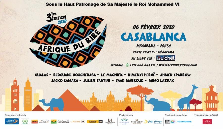 Festival Afrique du rire - Gala de Casablanca