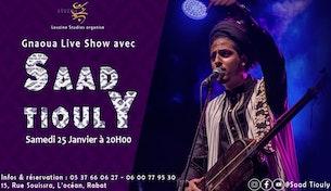 SAAD TIOULY en concert à Louzine Studios Rabat