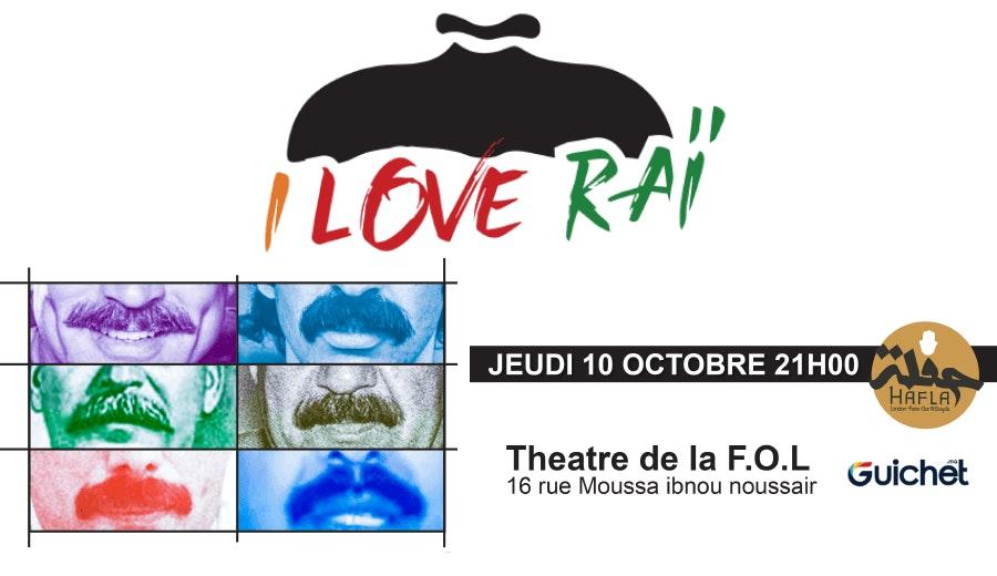 I love Rai Le groupe en Concert