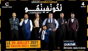 Bombacomique '' L'confinement '' à Rabat