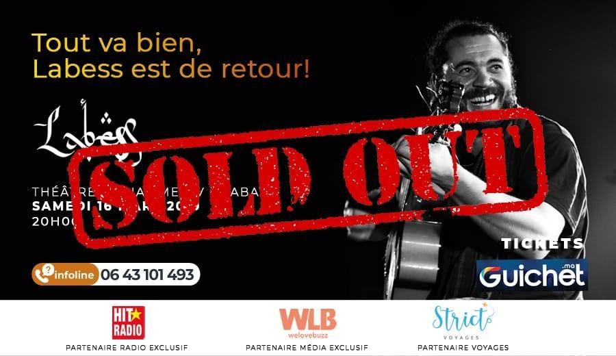 LABESS en concert à Rabat
