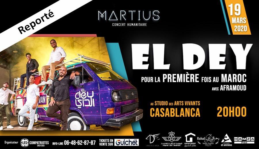 Concert Martius de charité ENCG-CASA / Reporté