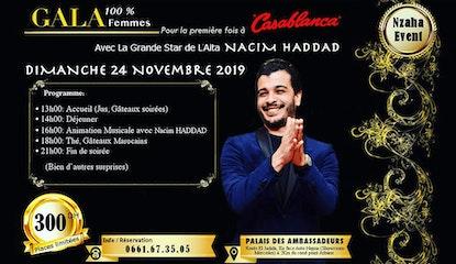 Gala 100% Femmes à Casablanca