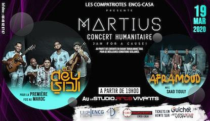 Concert Martius de charité ENCG-CASA