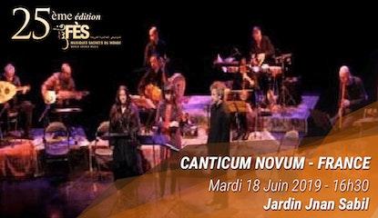 Festival de Fès des musiques sacrées du Monde - Canticum Novum