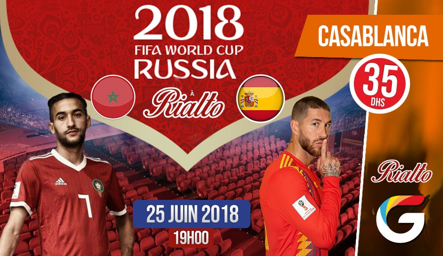 Maroc vs Espagne :  Une occasion de vivre autrement l'expérience du la coupe du monde !