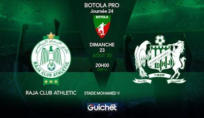 Raja Club Athletic VS Difaa Hassani El Jadidi
