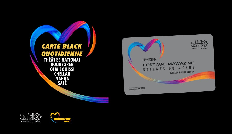 Festival Mawazine - Carte Black Quotidienne