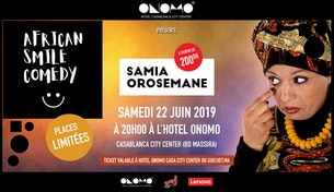 Samia OROSEMANE en spectacle plein air
