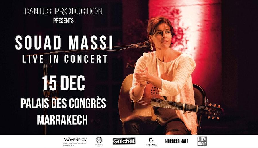 SOUAD MASSI à Marrakech
