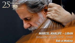 Festival de Fès des musiques sacrées du Monde - Marcel Khalife