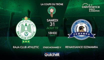 Raja Club Athletic VS Renaissance Ezzmamra