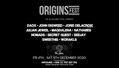 Origins Festival  2020
