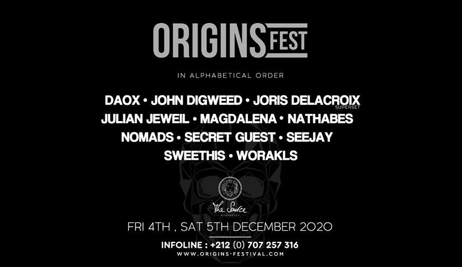 Origins Festival  2020 / Reporté
