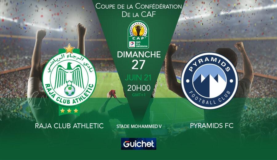 Raja Club Athletic VS Pyramids FC