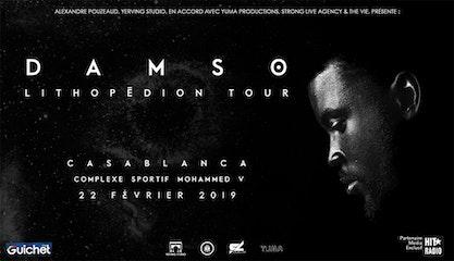 Damso en concert à Casablanca