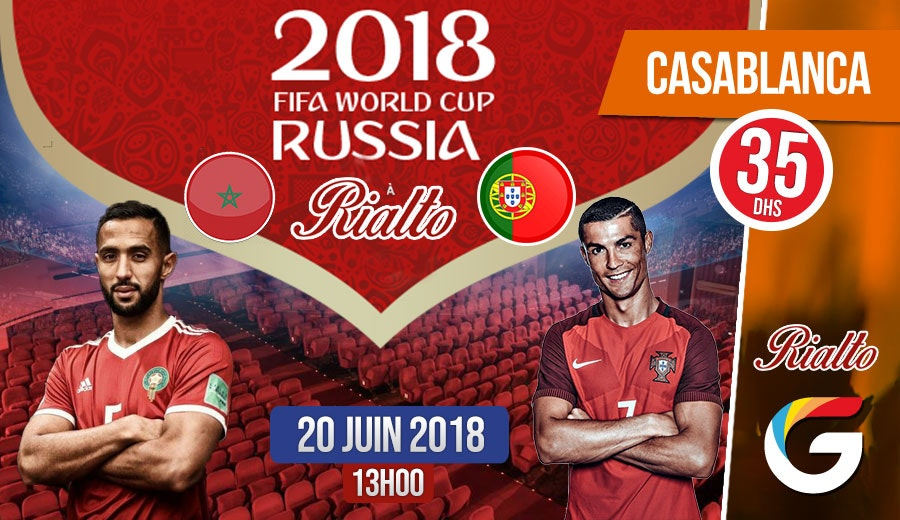 Maroc vs Portugal: Vivez l'expérience de la Coupe du Monde dans une ambiance plein d'adrénaline qui vous fait vibrer !