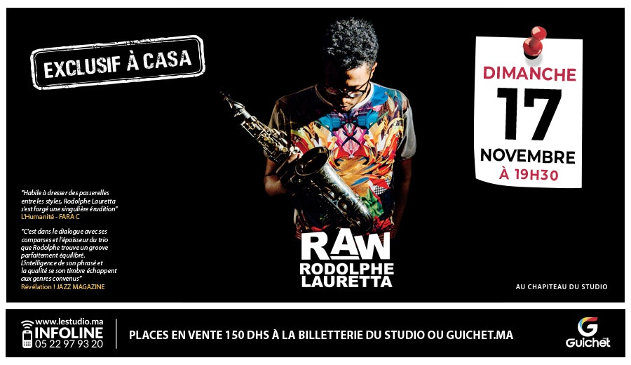 Rodolphe Lauretta  RAW TRIO