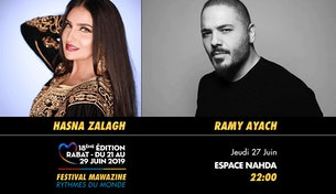 Festival Mawazine - Hasna Zalagh & Ramy Ayach