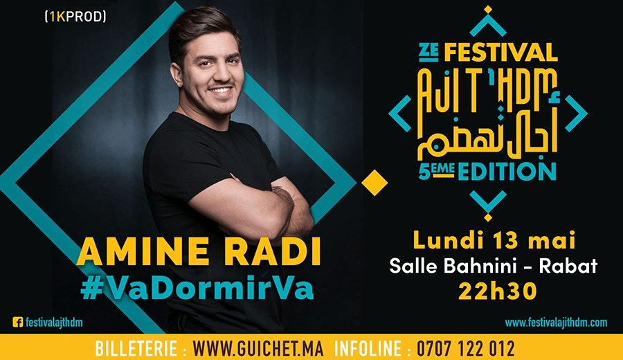 Aji T'hdm - Amine RADI
