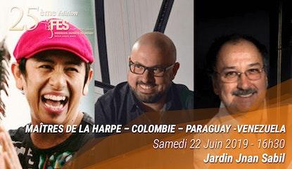 Festival de Fès des musiques sacrées du Monde - Maîtres de la Harpe
