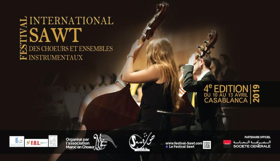 Concert d'Ouverture| 4 ème Edition du Festival International SAWT des Chœurs et Ensembles Instrumentaux