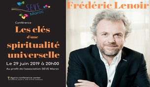 Frédéric Lenoir en conférence à Casablanca