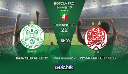 Raja Club Athletic VS Wydad Athletic Club