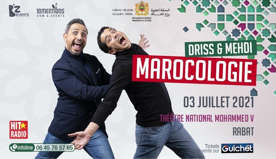 """Driss & Mehdi """"Marocologie"""" à Rabat"""