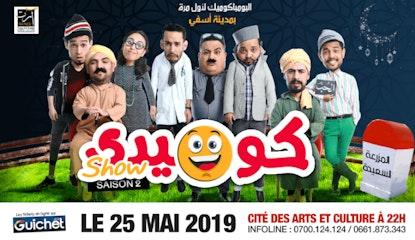 Comedy Show Saison 2 à SAFI / 25Mai
