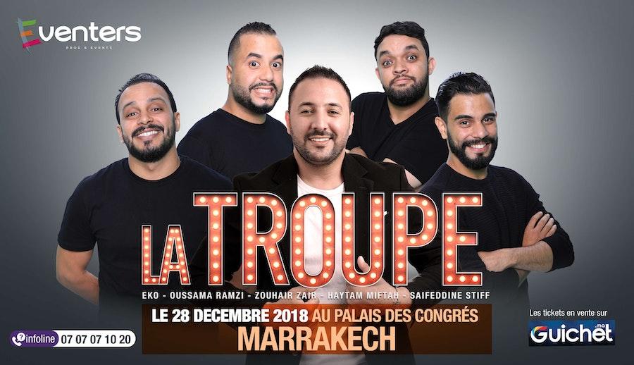 La Troupe à Marrakech