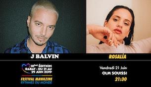 Festival Mawazine - ROSALÍA / J BALVIN