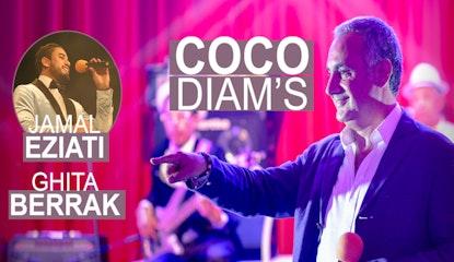 COCO DIAM'S, GHITA BERRACK & JAMAL EZIATI dans une soiree 100% Chgoury