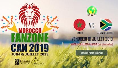 Morocco FanZone Can 2019 - Maroc vs Afrique du Sud