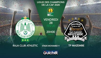Raja Club Athletic VS Tout Puissant Mazembe
