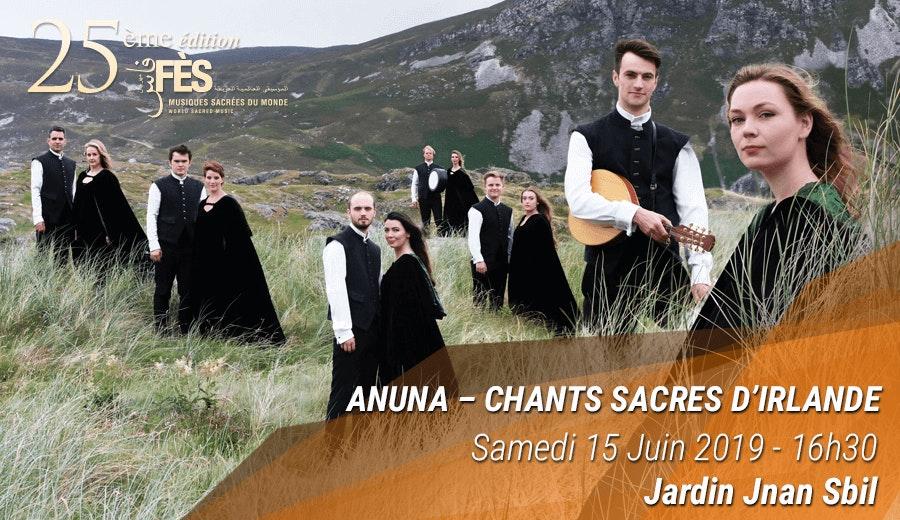Festival de Fès des musiques sacrées du Monde - Anuna