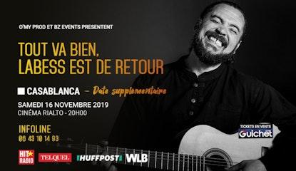 Labess en Concert à Casablanca / 16Nov