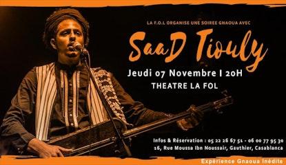 Saad TIOULY en concert à La F.O.L  a Casablanca