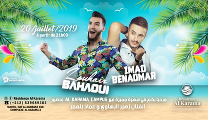 Dîner de GALA avec Zouhair BAHAOUI et Imad BENAOMAR