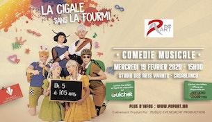Comédie Musicale - La Cigale sans la Fourmi